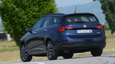 Fiat Tipo Station Wagon estate - rear cornering