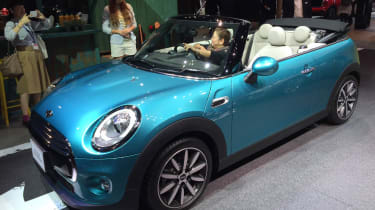 New 2016 MINI Convertible Tokyo reveal