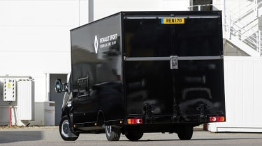 Renault Master F1 conversion - rear
