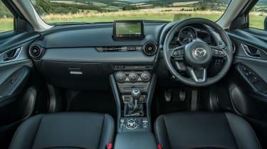 Mazda CX-3 - interior