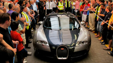70 Years of British Car Auctions - Bugatti Veyron
