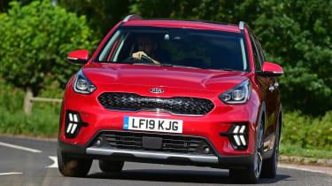 New Kia Niro Hybrid - front action