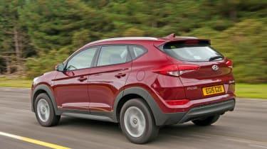 Used Hyundai Tucson - rear action