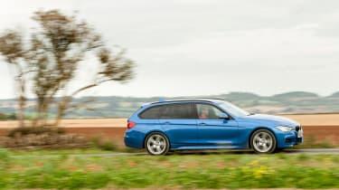 BMW 328i Touring panning
