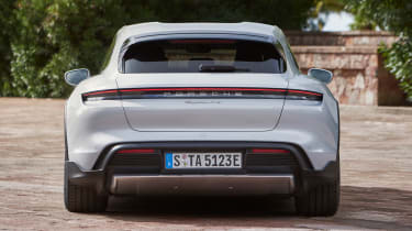 Porsche Taycan Cross Turismo - full rear