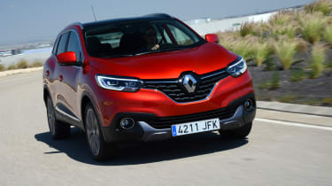 New Renault Kadjar 2015 front