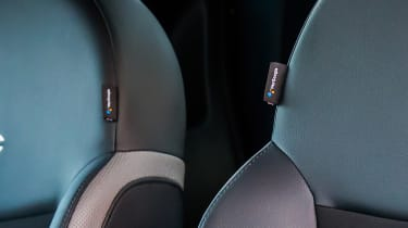 Fiat 500 Google - seat detail