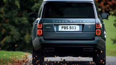 Range Rover SDV8 - rear tracking