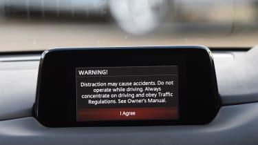Mazda CX-5 - second report navigation