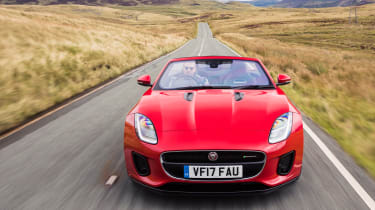 Jaguar F-Type Convertible 2.0-litre 4-cylinder - full front