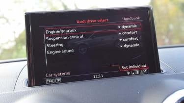 Audi RS3 - long-term - drive select