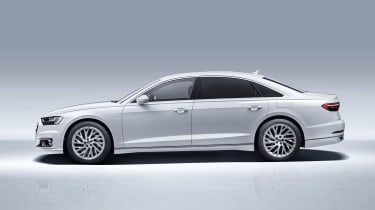 Audi A8L PHEV - side