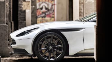 Aston Martin DB11 V8 - side teaser