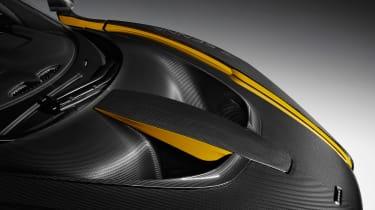 McLaren Senna Carbon Theme - front aero