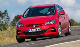 Vauxhall Astra BiTurbo five-door action