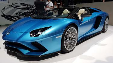 Lamborghini Aventador Roadster - Frankfurt Motor Show front