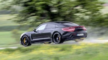 Porsche Taycan - rear action