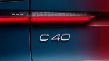 Volvo C40 - C40 badge
