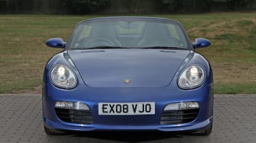 Used Porsche Boxster - full front