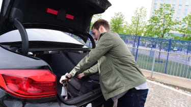 BMW 5 Series long termer - first report boot