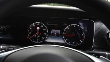 Mercedes E-Class Estate - dials