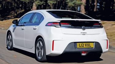 Vauxhall Ampera rear tracking