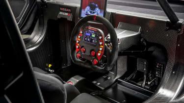 NIssan Leaf NISMO RC - steering wheel