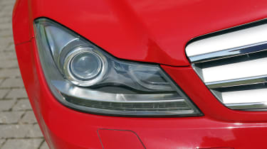 Used Mercedes C-Class - front light