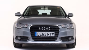 Used Audi A6 - full front