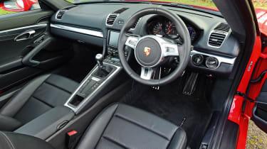 Porsche Cayman - dash