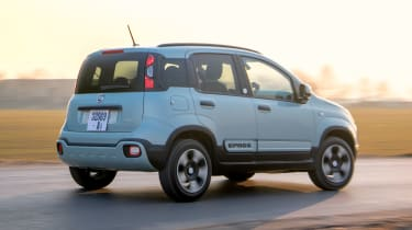 Fiat Panda Mild Hybrid - rear action