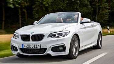 BMW 220d Convertible - front