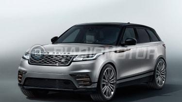 Range Rover Velar - leaked front