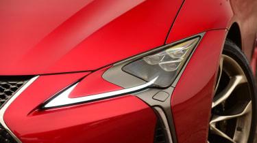 Lexus LC 500h - front light