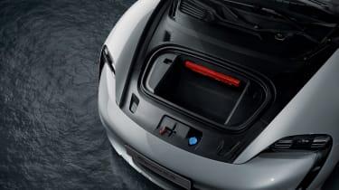 Porsche Taycan Cross Turismo - front boot