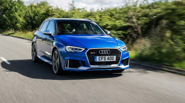 Audi RS3 Sportback - front tracking