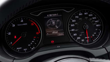 Audi A3 TFSI 2016 - instruments