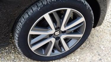SEAT Mii electric UK - wheel detail