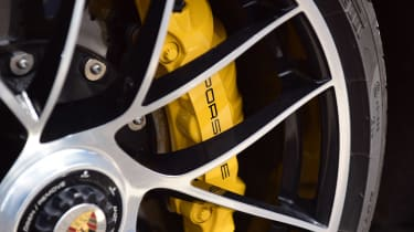 Porsche 911 Turbo S - wheel