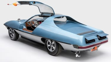 Petersen Automotive Museum  - AMT Piranha U.N.C.L.E - rear static