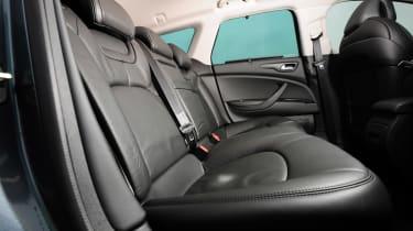 Citroen C5 rear seats