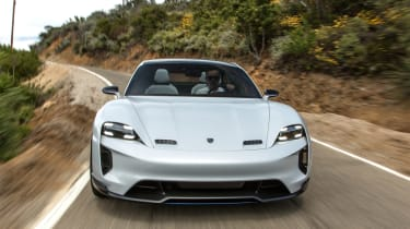 Porsche Mission E Cross Turimso - full front