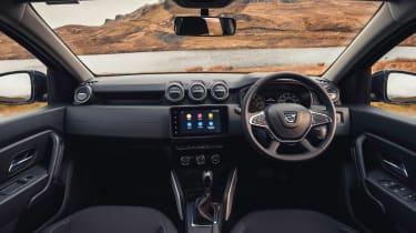 Dacia Duster 2021 facelift - interior
