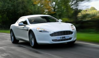 Aston Martin Rapide front tracking