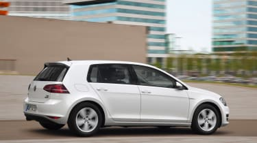 VW Golf BlueMotion 1.0 TSI rear