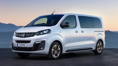 Vauxhall Vivaro Life - front static
