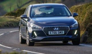 New Hyundai i30 - front action