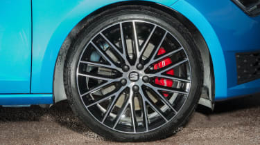 SEAT Leon Cupra 290 2016 UK - wheel