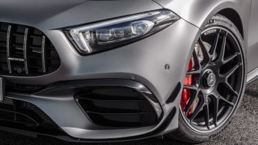 Mercedes-AMG A45 2019 front detail