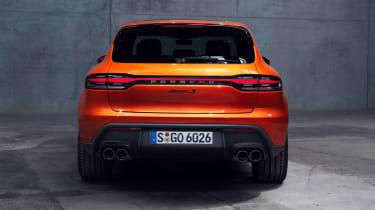 Porsche Macan S - full rear
